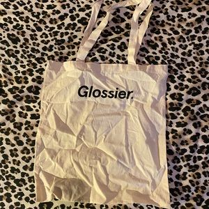 Glossier tote bag brand new